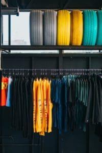 Merchandising-color-blocking
