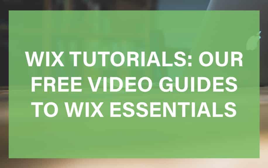 WIX tutorials featured image