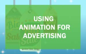 Using animation for advertising header image.