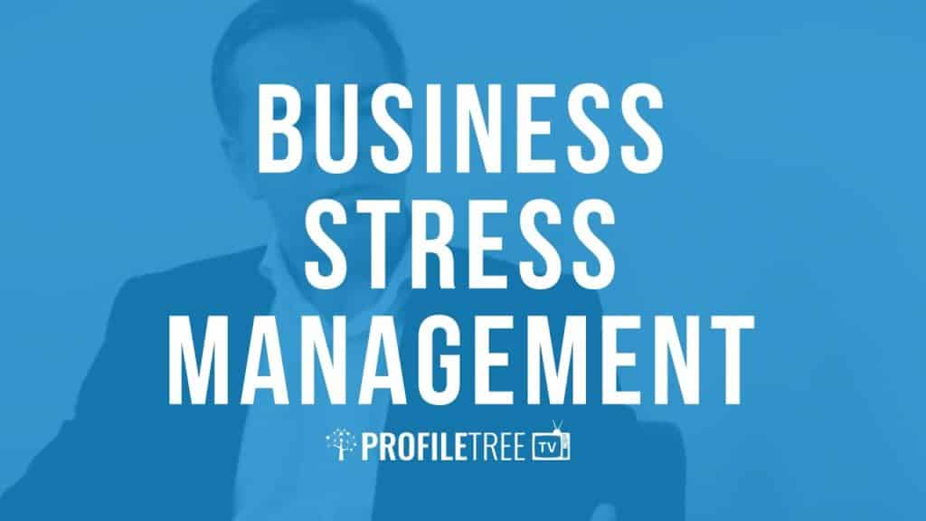 business stress management sean connolly