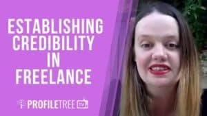establishing credibility in freelance katie harrington