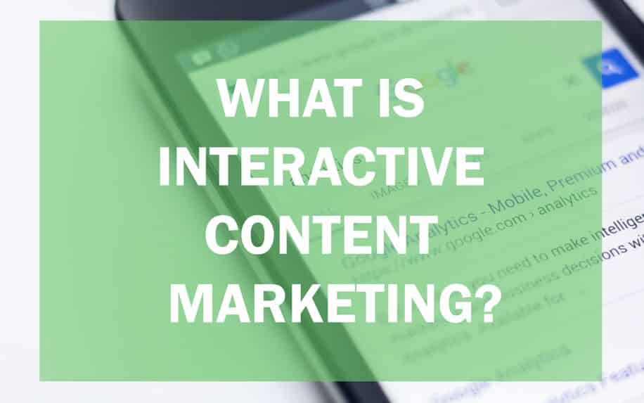what is interactive content marketing