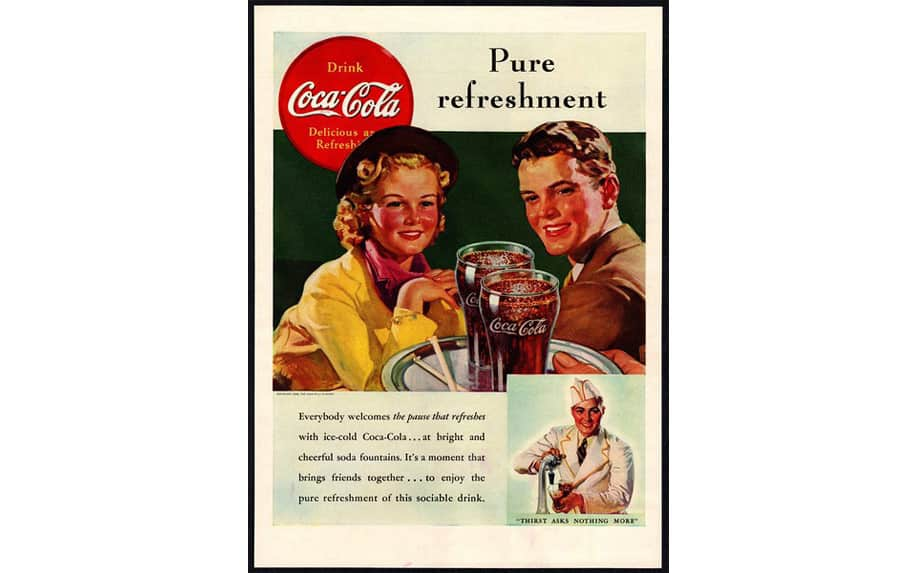 CocaCola have a very clear brand position.