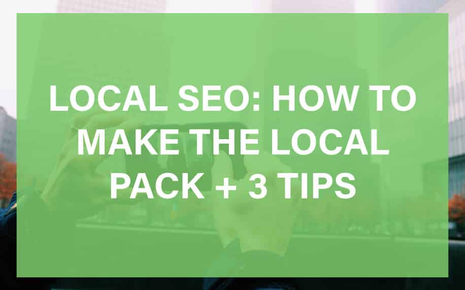 How to Make the Local Pack Header Image
