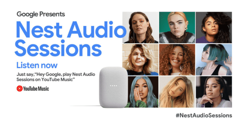 Google has created Nest Audio Sessions on YouTube