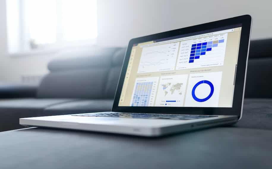 Image displaying a user interface relating to market segmentation analytics.