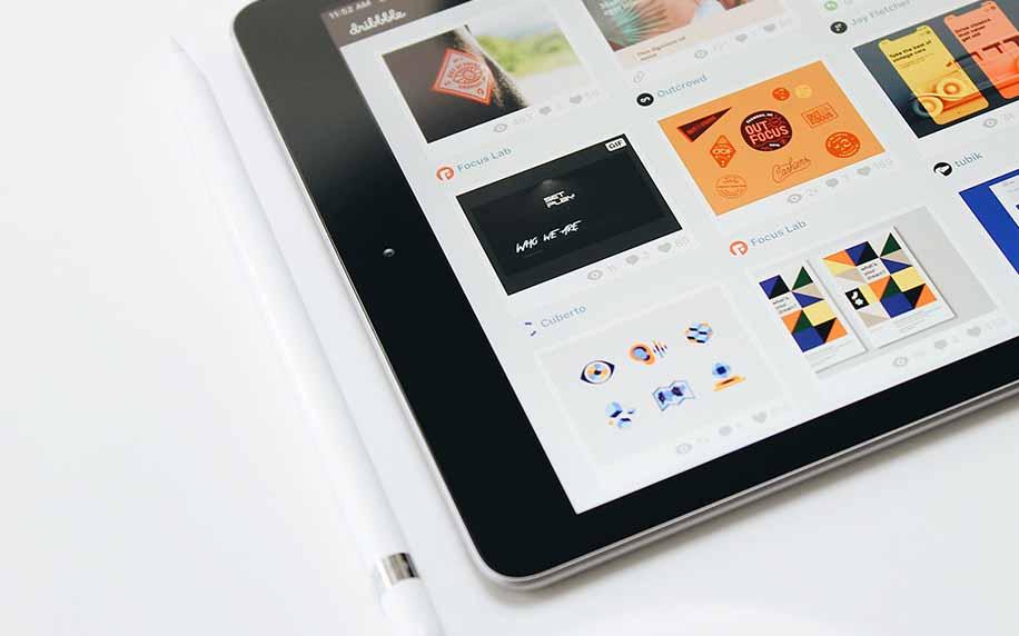 web design composition