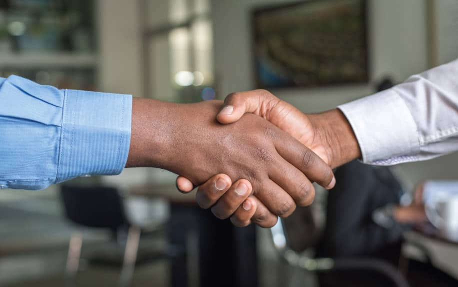 How careers are changing in Northern Ireland handshake