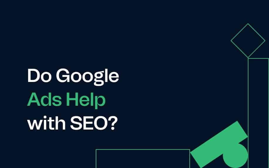 image for do google ads help with seo blog