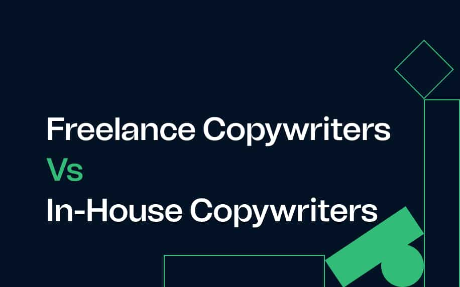 image for the blog freelance copywriters vs in-house copywriters