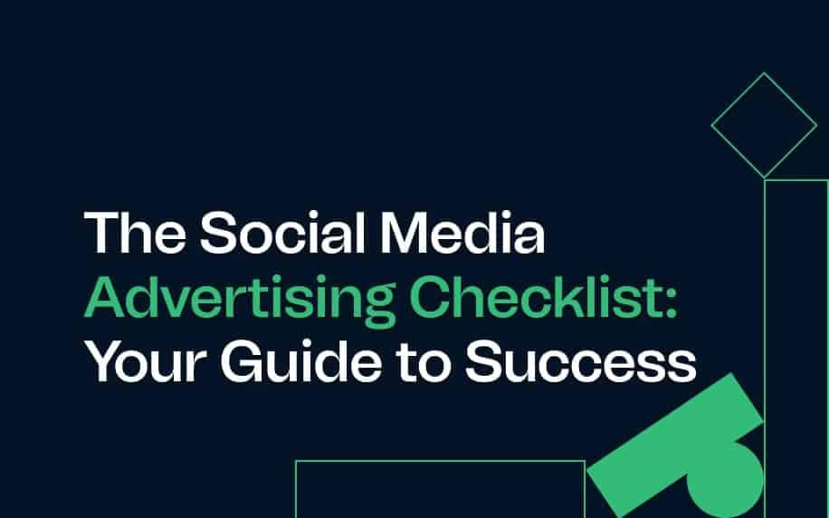 image for the social media advertising checklist