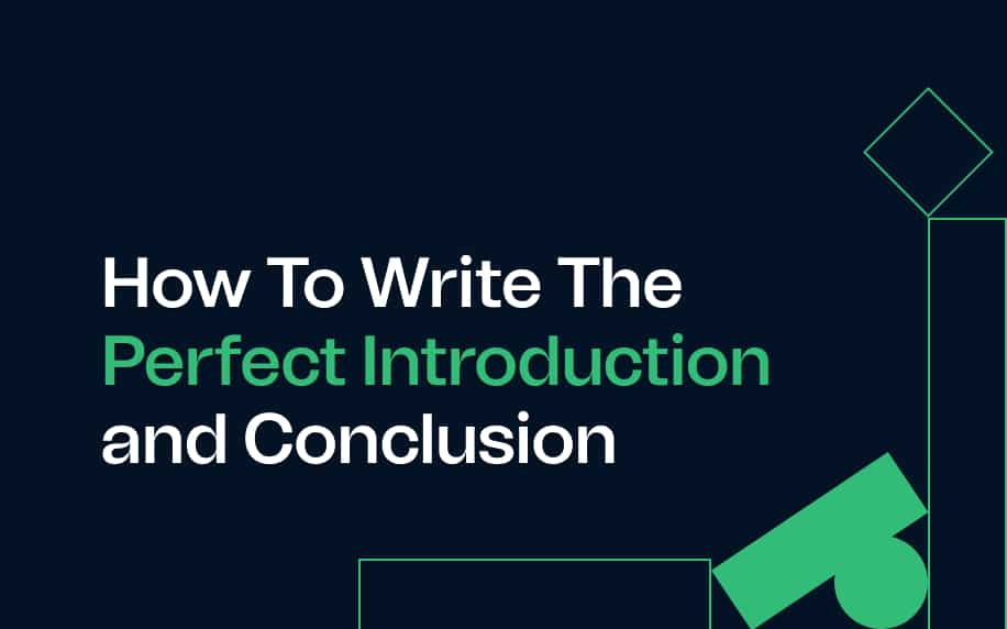 image for the how to write a perfect introduction and conclusion blog