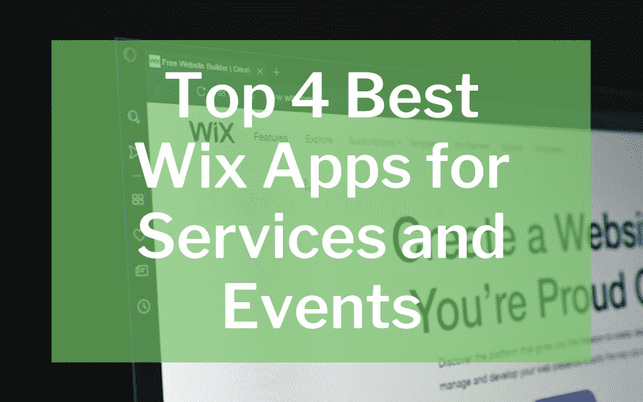 top 4 best wix apps for services and events featured image