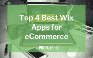 image for the top 4 best wix apps for ecommerce