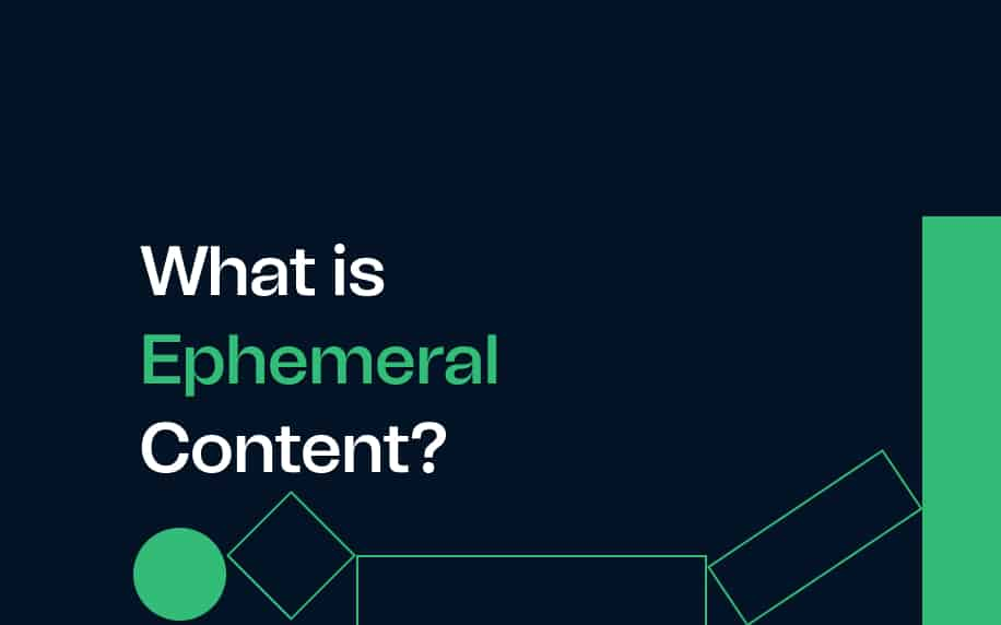 what is ephemeral content