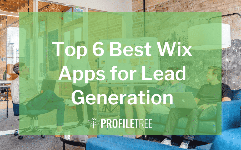 image for top 6 best wix apps for lead generation