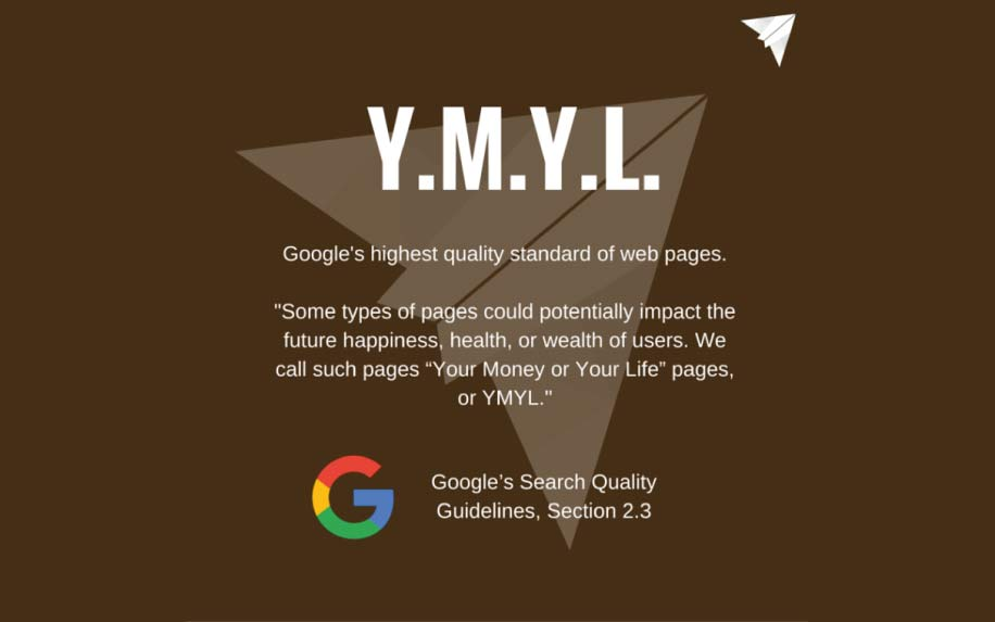 YMYL infographic