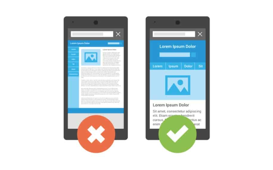 Google Mobile Update example