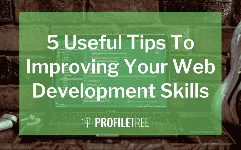 image for the 5 useful tips to improving your web development skills