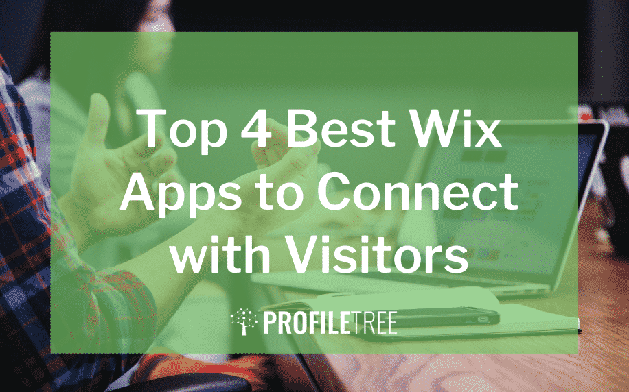 image for the top 4 best wix apps to connect with visitors