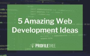 image for 5 amazing web development ideas