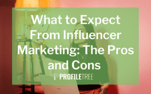 image for what to expect from influencer marketing the pros and cons