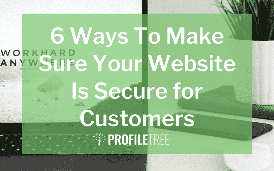 image for 6 ways to make sure your website is secure for customers blog