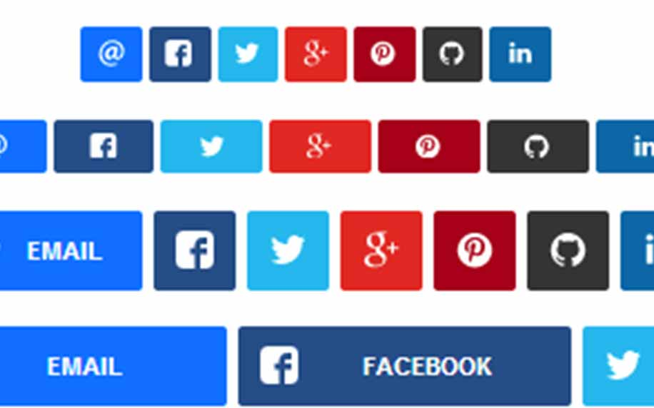 an image of all the social buttons