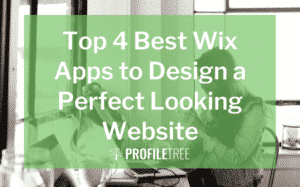 image for top 4 best wix apps to design a perfect looking website blog